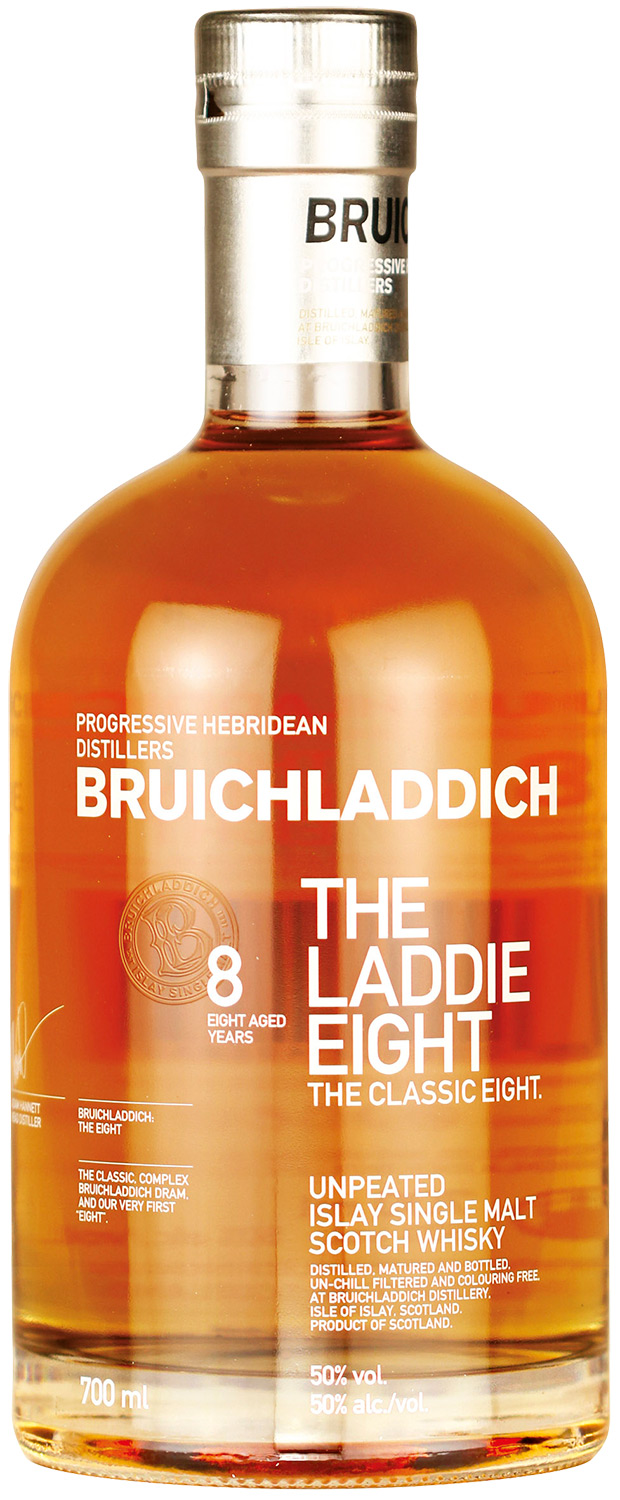 Bruichladdich The Laddie Eight, 8 YO 50%
