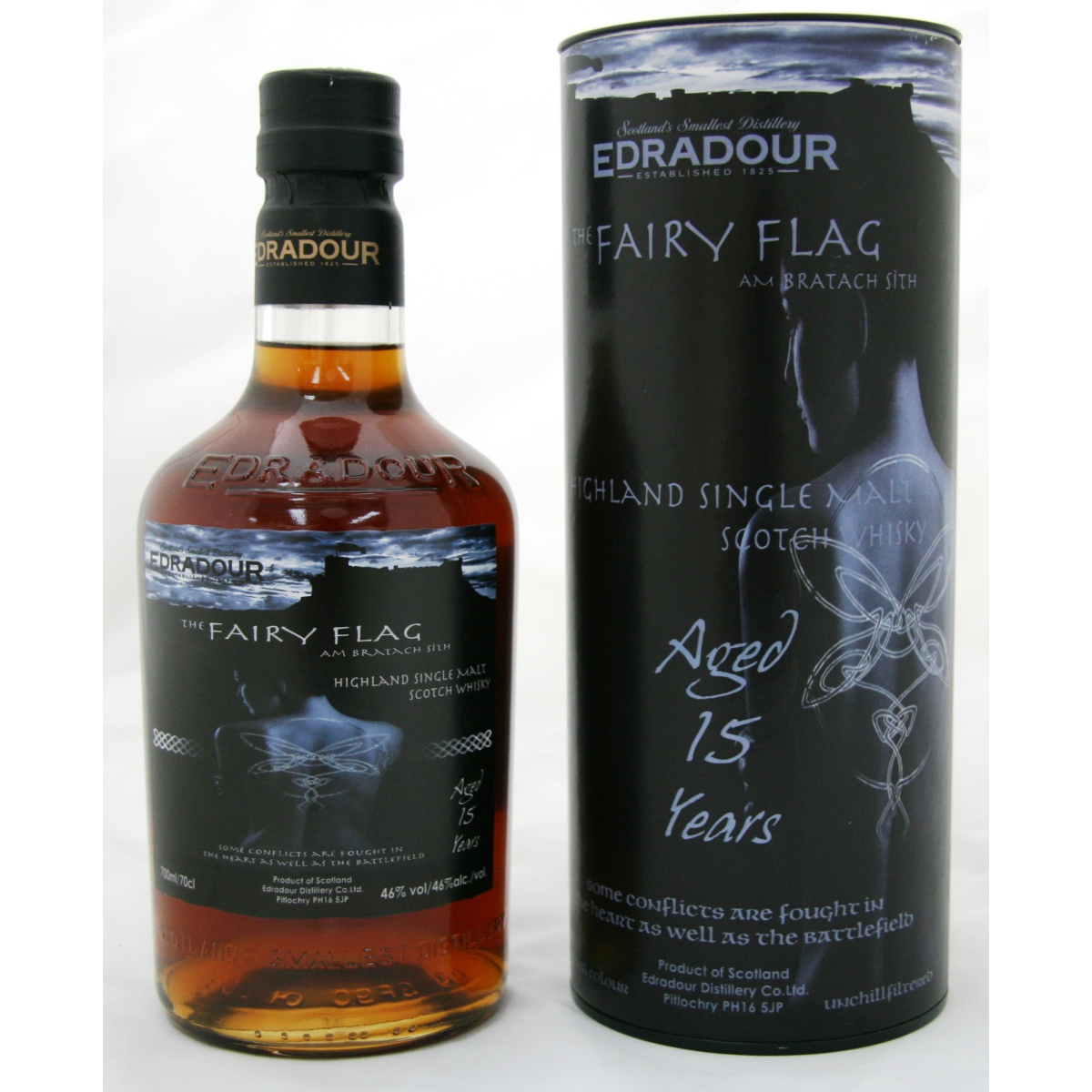 Edradour 15 YO Fairy Flag
